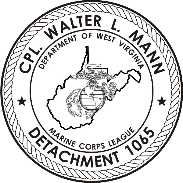 Cpl Walter L Mann Detachment 1065 Logo